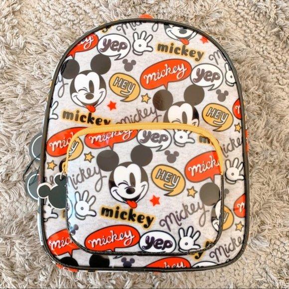 ⭐️ Hey Mickey Mouse Comic Disney Mini Backpack